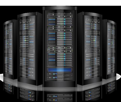 Blue hosting server